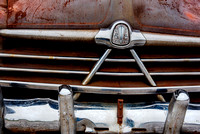 Claasic Hudson automobile front grill