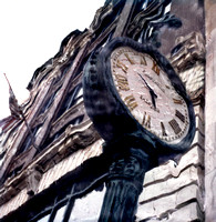 large street clock st louis missouri