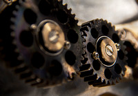 photography of gears